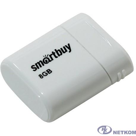 Smartbuy USB Drive 8GB LARA White SB8GBLara-W