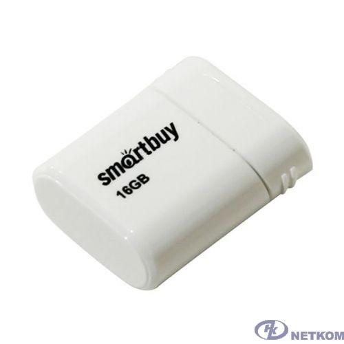 Smartbuy USB Drive 16GB LARA White SB16GBLARA-W