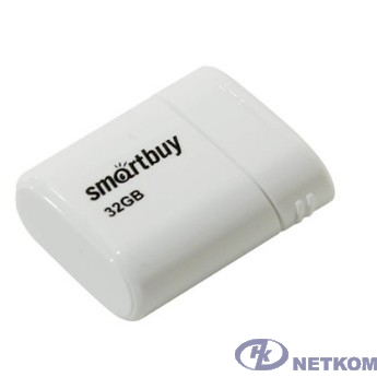 Smartbuy USB Drive 32GB LARA White SB32GBLARA-W