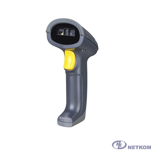Mindeo MD6600AT-HD Сканер ШК (ручной, 2D имидж, серый; ЕГАИС; Честный Знак) USB