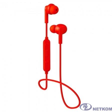 Perfeo BT наушники внутриканальные с микрофоном TYRO красные [PF_B4024]