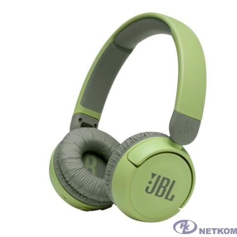 Наушники JBL Беспроводные наушники накладные R 310,зеленые