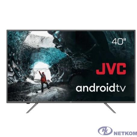 "JVC 40"" LT-40М690 черный {40"" (102см) - Google Android TV, Android 9, FullHD, 1920x1080, Bluetooth, DVB-C, DVB-T, DVB-T2, Слот CI/CI+}"