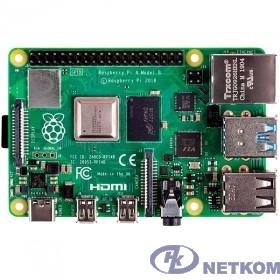 Микрокомпьютер Raspberry Pi 4 Model B (RA608) Retail, 8GB (44869)
