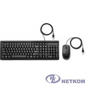 HP 160 [6HD76AA] Combo Wired  black USB (клавиатура+мышь)