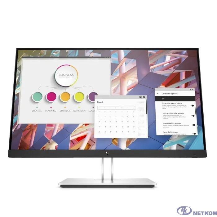 "LCD HP 27"" E27 G4 черный {IPS 1920x1080 16:9 1000:1 250cd  D-Sub HDMI DisplayPort} [9VG71AA#ABB]"