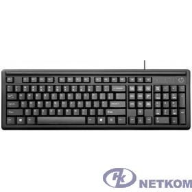 HP [2UN30AA] 100 Keyboard Wired RUSS (black) cons