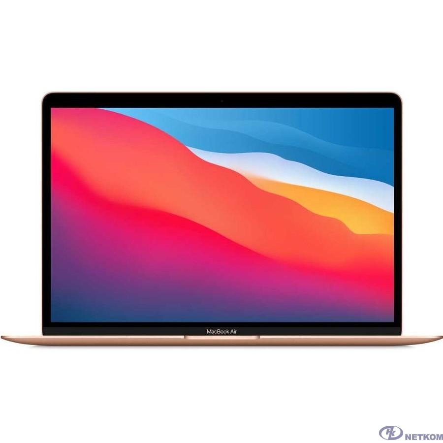 Apple MacBook Air 13 Late 2020 [Z12A0008K, Z12A/1] Gold 13.3'' Retina {(2560x1600) M1 chip with 8-core CPU and 7-core GPU/8GB/512GB SSD} (2020)