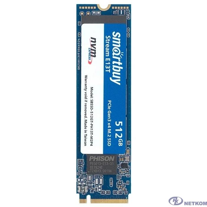 Smartbuy M.2 SSD 512Gb Stream E13T SBSSD-512GT-PH13T-M2P4