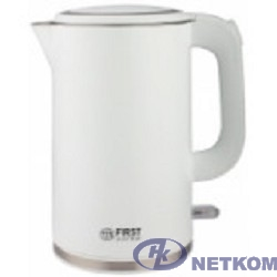 FIRST FA-5407-2-WI 5407-2-WI Чайник , 2200 Вт.Корпус с двойными стенками.Емкость: 1.7 л