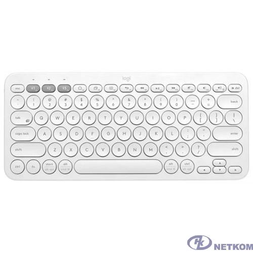 920-009589 Logitech Клавиатура K380 {Multi-Device, белый, USB, беспроводная, BT}