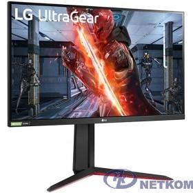 "LCD LG 27"" 27GN850-B черный {IPS 2560x1440 144Hz 1ms 350cd 1000:1 HDR10 10bit(8bit+FRC) pivot 2xHDMI2.0 DisplayPort1.4 FreeSync G-Sync AudioOut VESA}"