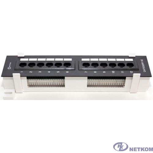 "5bites PPU55-04W Патч-панель UTP / 5E / 12P / KRONE / 110 / DUAL IDC / 10"" / WALL"