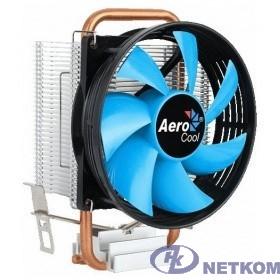 Устройство охлаждения(кулер) Aerocool Verkho 1-3P {Soc-FM2+/AM2+/AM3+/AM4/1150/1151/1155 3-pin 28dB Al+Cu 100W 280gr} Ret