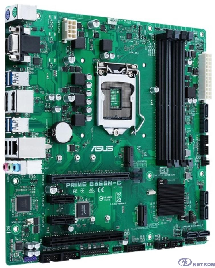 ASUS PRIME B365M-C {LGA1151,B365,USB3.1, 2*DP,MB}