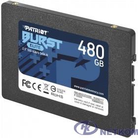 Patriot SSD 480Gb Burst Elite PBE480GS25SSDR {SATA 3.0}