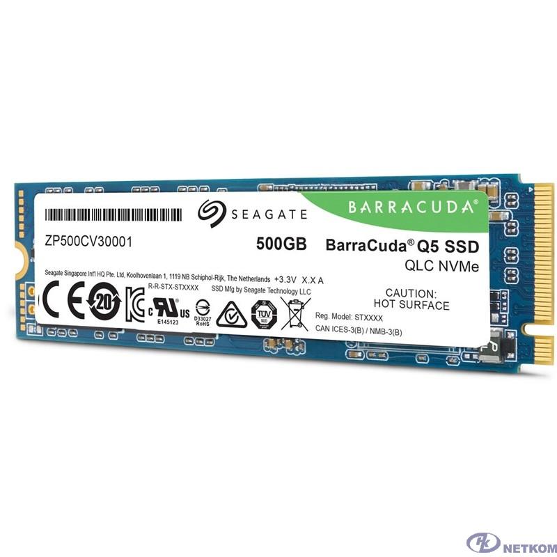 SSD жесткий диск M.2 2280 500GB ZP500CV3A001 SEAGATE
