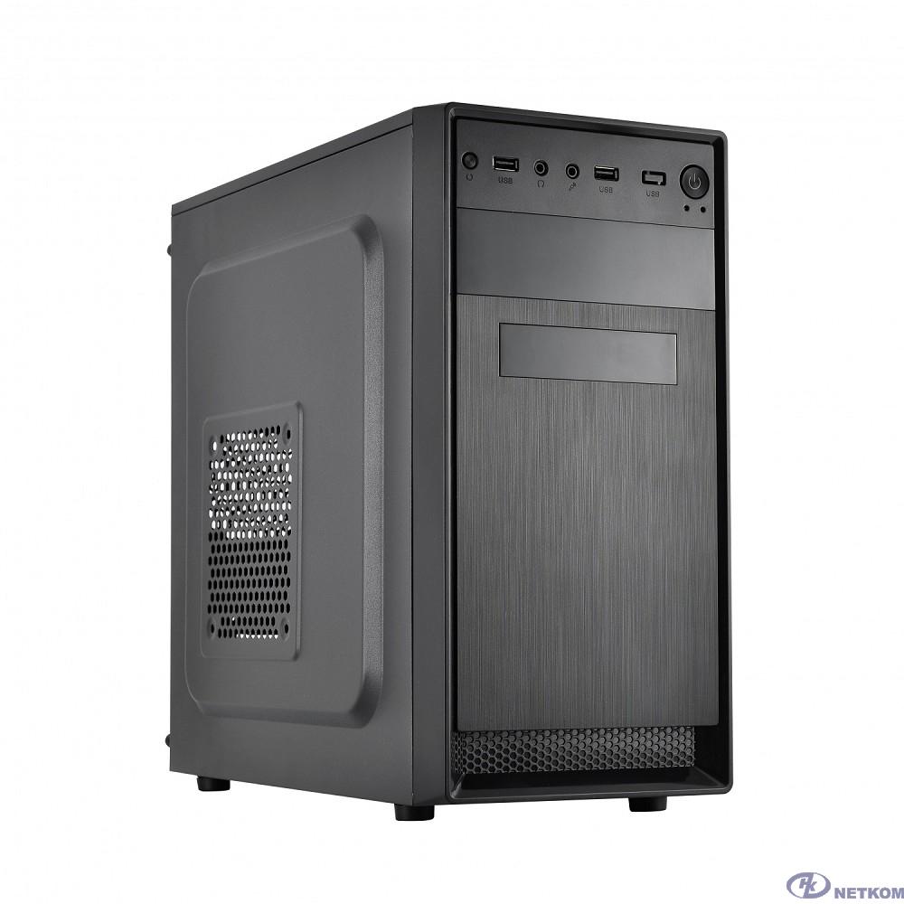 CROWN Корпус CMC-4210 (CM-PS500W ONE) OEM (mATX; 2*USB2.0; 185*380*355 мм)