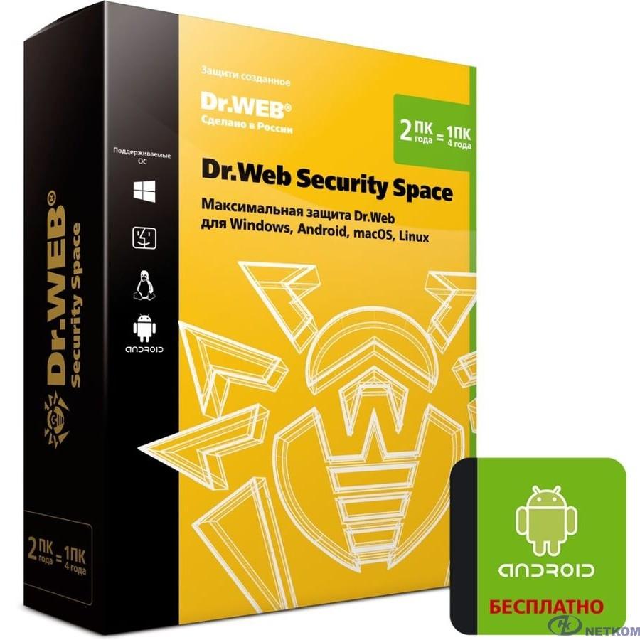 BHW-B-24M-2-A3 DR.Web 2-Desktop 2 years (350580)