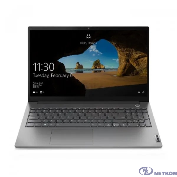 """Lenovo ThinkBook 15 G2 ARE [20VG006NRU] Grey 15.6"""" {FHD Ryzen 5 4500U/16Gb/512Gb SSD/DOS}"""