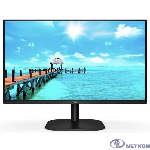 """LCD AOC 27"""" 27B2DA черный {IPS 1920x1080 75Hz 4ms 178/178 250cd 1000:1 8bit(6bit+FRC) D-Sub DVI HDMI1.4 AdaptiveSync 2x2W VESA}"""