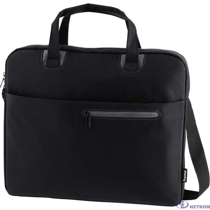 """Hama Sydney Сумка для ноутбука 15.6"""" черный/серый полиэстер (00101932)"""