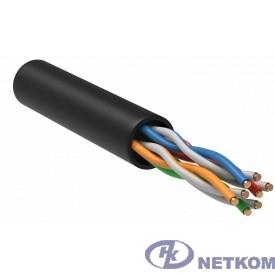 ITK LC3-C5E04-139-R ITK Витая пара U/UTP 5E 4 х 2 х 24 AWG solid LDPE черн. (305м) РФ