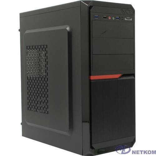 Exegate EX287520RUS Корпус Miditower ExeGate AX-251U2-450W-12 (ATX, БП XP450 с вент. 12см, 1*USB+2*USB3.0, аудио, черный)