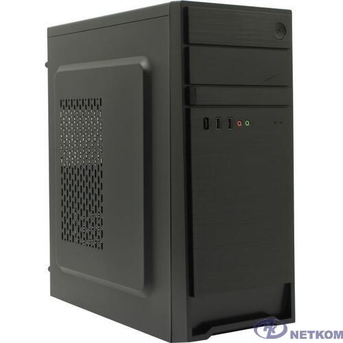 Exegate EX287510RUS Корпус Miditower ExeGate AX-252-450W-12 (ATX, БП XP450 с вент. 12см, 2*USB, аудио, черный)