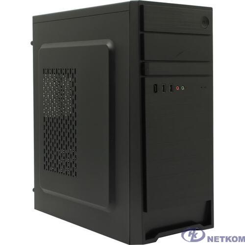 Exegate EX287511RUS Корпус Miditower ExeGate AX-252-500W-12 (ATX, БП XP500 с вент. 12см, 2*USB, аудио, черный)
