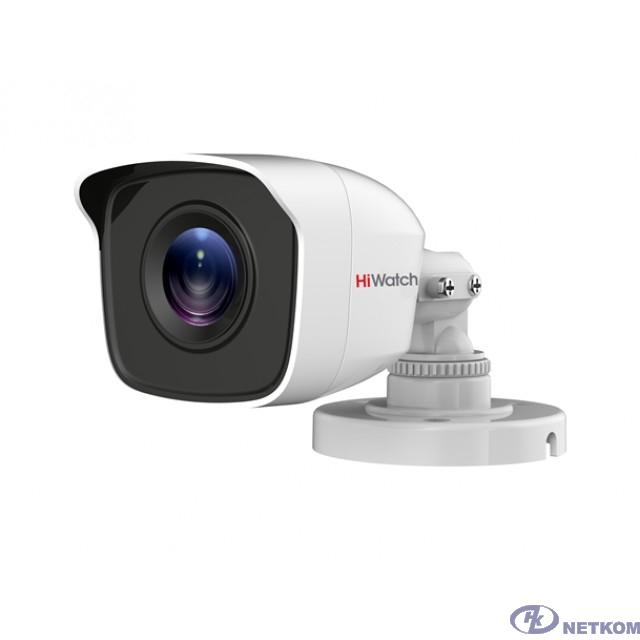 HiWatch DS-T200 (B) Камера видеонаблюдения 3.6-3.6мм HD-CVI HD-TVI цветная корп.:белый