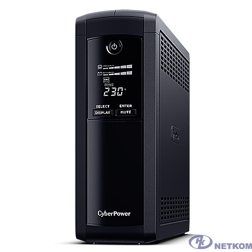UPS CyberPower VP1200ELCD {1200VA/720W USB/RS-232/RJ11/45  (4 + 1 EURO)}