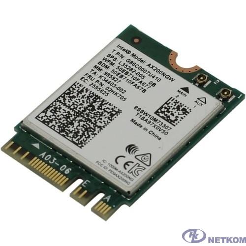 Wi-Fi адаптер AX200 PCIE M.2 AX200.NGWG.NV 985927 INTEL
