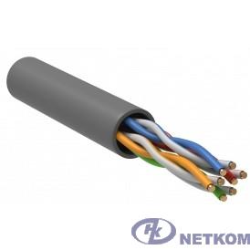 ITKL C1-C5E04-111-P-R ITK Витая пара U/UTP 5E 4х2х0,52 solid PVC серый (305м) РФ