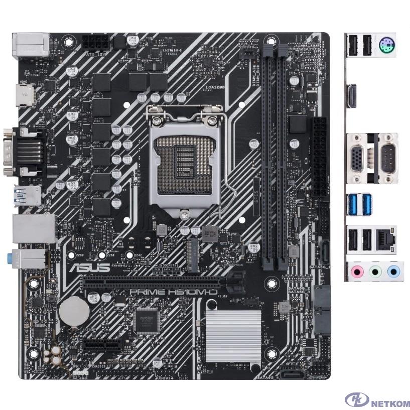 Asus PRIME H510M-D RTL {Soc-1200 Intel H510 2xDDR4 mATX AC`97 8ch(7.1) GbLAN+VGA+HDMI}