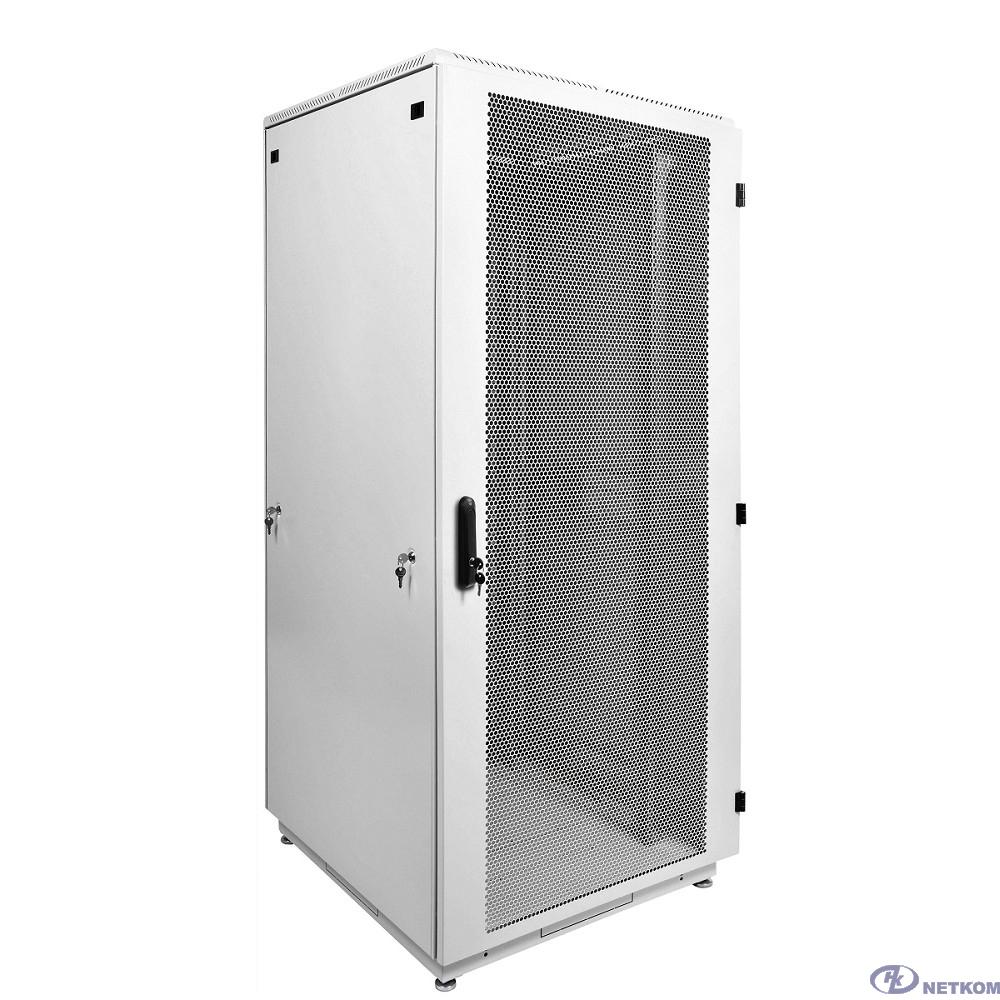ЦМО Шкаф телекоммуникационный напольный 42U (800x1000) дверь перфорир. 2 шт. (ШТК-М-42.8.10-44AA) (3 коробки)