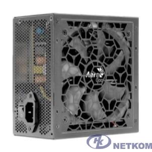 Блок питания 650W Aerocool AERO BRONZE 650 (ATX 2.52, 120mm fan, 80+Bronze, APFC) (4710562753981)