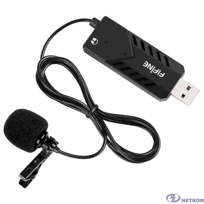 Микрофон петличный FIFINE, K053