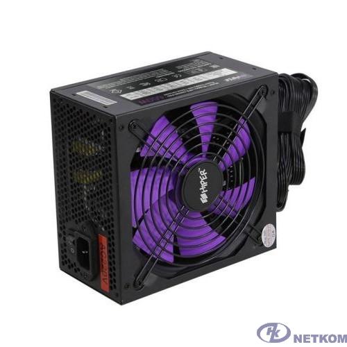 HIPER Блок питания HPB-600SM-PRO (ATX 2.31, 600W, Active PFC, 140mm fan, Cable Management, 80Plus BRONZE, Teapo Capacitors, EMI 2 grade, черный) BOX