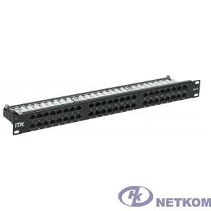 ITK PP48-1UC06U-D05H Оптический патч-корд, SM, 9/125 (OS2), FC/UPC-FC/UPC,(Duplex),10 mU патч-панель кат.6 UTP, 48 портов (Dual)