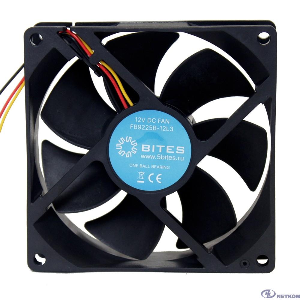 5bites Вентилятор FB9225B-12L3 92X25 / BALL / 1800RPM / 3P
