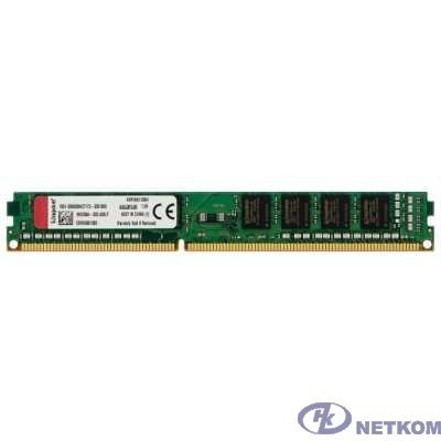 Kingston DDR3 DIMM 4GB (PC3-12800) 1600MHz KVR16N11S8/4WP