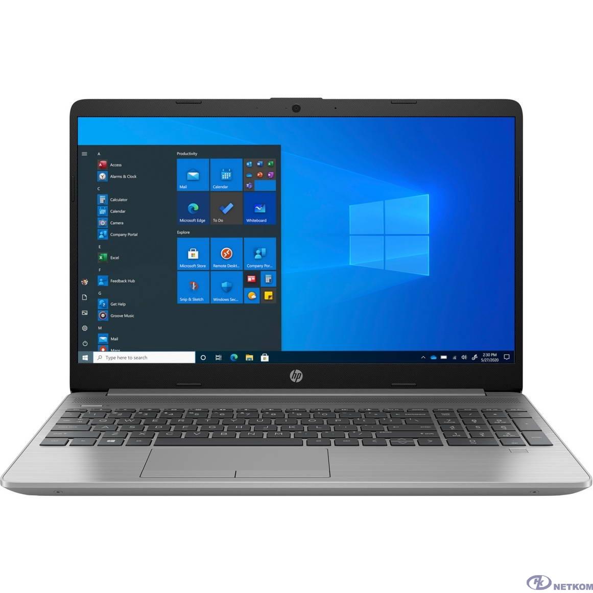 """HP 250 G8 [27K23EA] Silver 15.6"""" {FHD i5-1035G1/8Gb/256Gb SSD/W10}"""