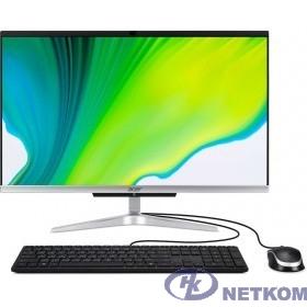 """Acer Aspire C24-420 [DQ.BG5ER.005] Silver 23.8"""" {FHD Athlon 3050U/4Gb/1000Gb/DOS/k+m}"""