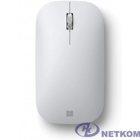 Мышь Microsoft Mobile Mouse Modern белый оптическая (1800dpi) беспроводная BT (3but)