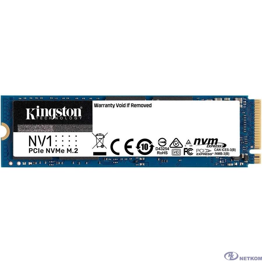 Kingston SSD 500Gb M.2 SNVS/500G NV1 M.2 2280 NVMe
