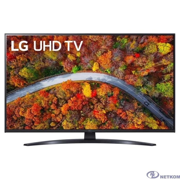 "LG 43"" 43UP81006LA черный {Ultra HD/50Hz/DVB-T/DVB-T2/DVB-C/DVB-S/DVB-S2/USB/WiFi/Smart TV (RUS)}"