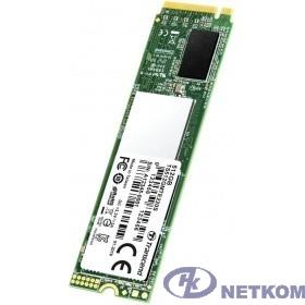 Твердотельный диск 512GB Transcend MTE220S, 3D TLC NAND, M.2, PCI-E 4x TS512GMTE220S