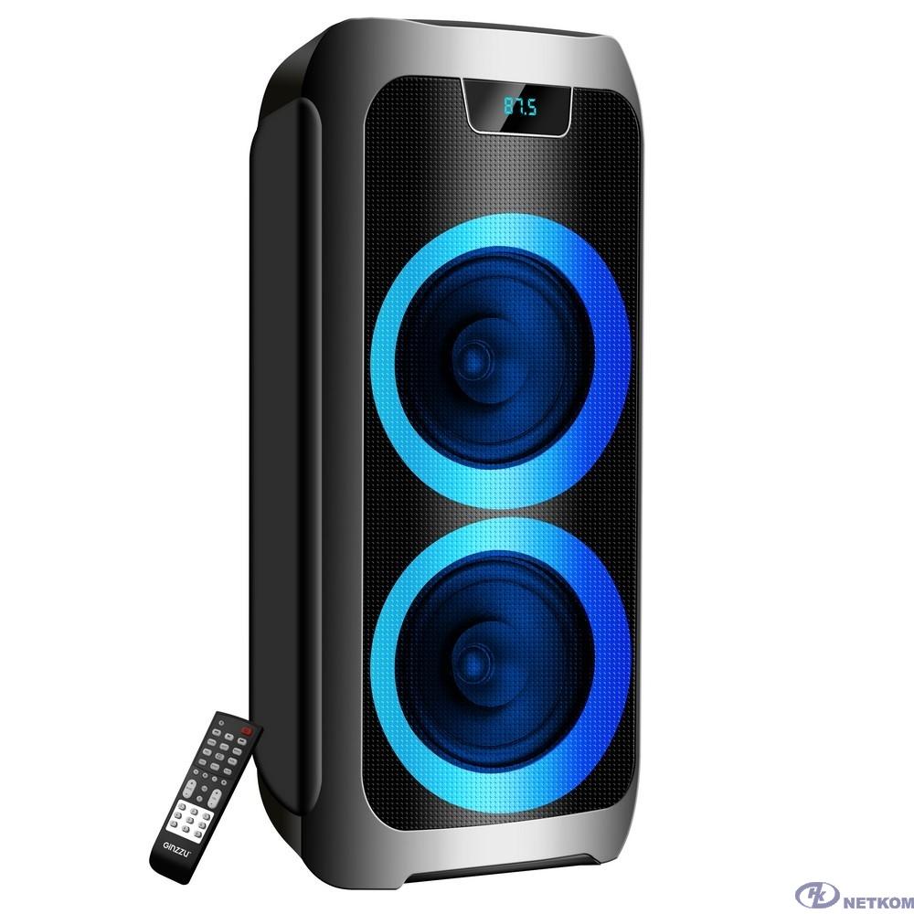 Ginzzu GM-211, Акустическая система Midi, RGB/BT/USB/TF/FM/ДУ