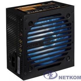 Блок питания Aerocool VX-650 RGB PLUS (ATX 2.3, 650W, 120mm fan, RGB-подсветка вентилятора) Box